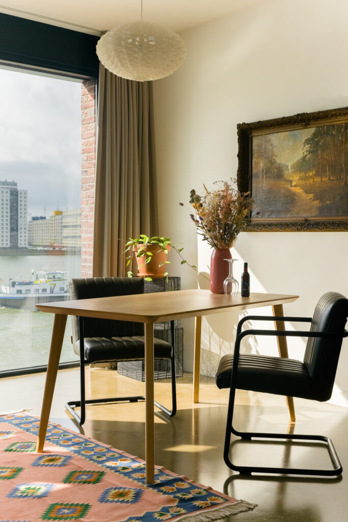 Bed and Breakfast Maasview in Rotterdam
